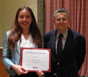 Grazia Todeschini and Professor Alexander Emanuel.