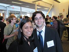 Joe Schlesinger '10 and Niyanta Mogre '11