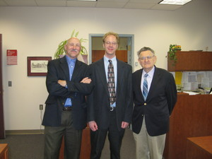 Professor Looft, Kurt Ferreira, Professor Emanuel