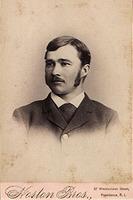 Elwood Haynes, graduation portrait