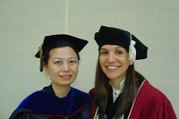 Prof. Liang & Danielle Belsito