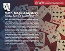 Math, Magic & Mystery, April 1, 2014
