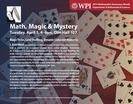 Math, Magic & Mystery, April 1,