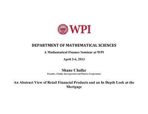 Shane Chalke Seminar