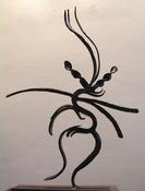 """Dancing Shiva,"" by Bernard Brenner."