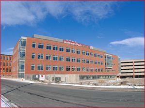 The WPI Life Sciences and Bioengineering Center.