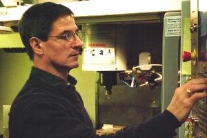 Michael Trishin, an unemployed machinist, is gaining invaluable skills through WPI's retraining program.