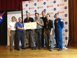 NASA awarded $5,000 to Team Survey of Los Angeles in June.