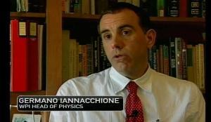 WPI physics professor Germano Iannacchione appeared on NECN to discuss the meteor blast.