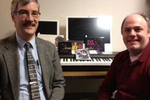 Joel J. Brattin, left, and The World's Clark Boyd