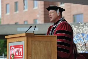 WPI President Dennis Berkey