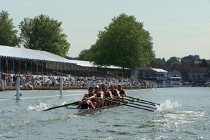 Johnson, McGee, and Moore competed in the 2009 Henley Regatta