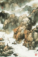 """""""Yangzi River"""" by Ma Qingxiong"""
