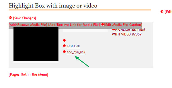 how to bring info when clicking links