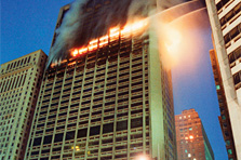 Research Notebook<BR><h4>Fires in Tall Buildings Pose Lofty Challeng
