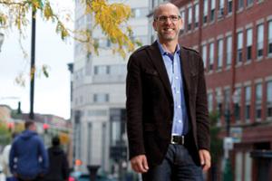 Rob Kreugar, associate professor of geography.