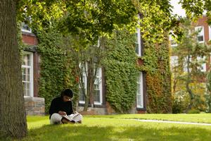 study outside