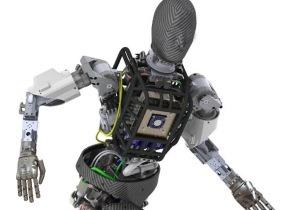 Artist's rendering of the Atlas robot