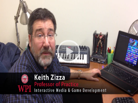 Watch a video of Keith Zizza discussing the new puzzle/action game app